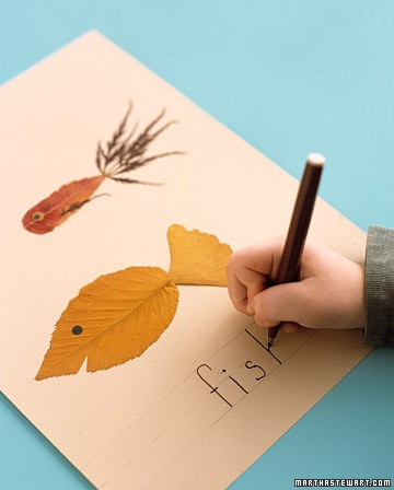 craft express – leaf art | rudy and the dodo