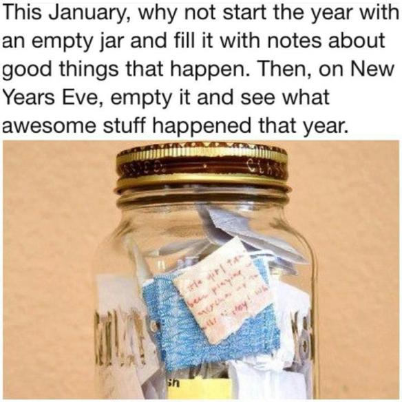 happy new year jar