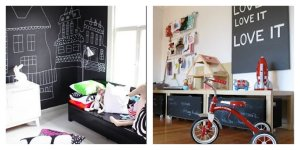 playroom blackboards