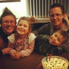 deni & family