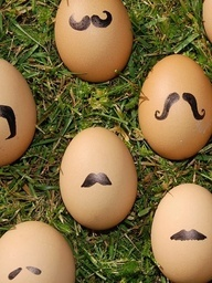 eggs moustache no source