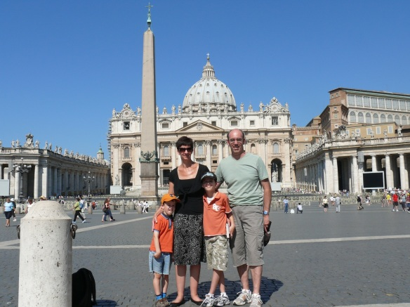 leanne a family in rome