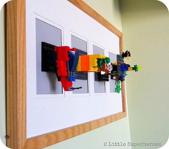 lego display frames