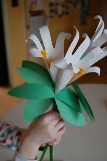 handprint lillies
