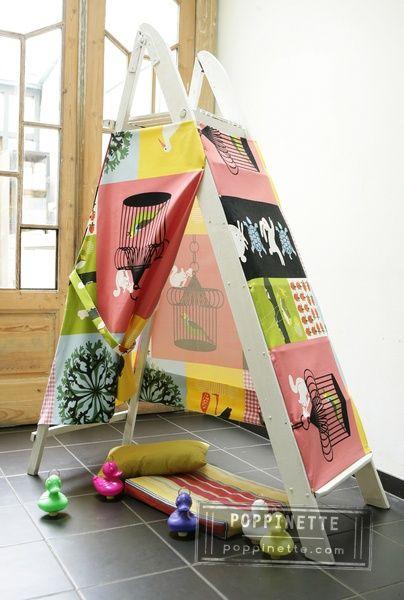 ladder tent
