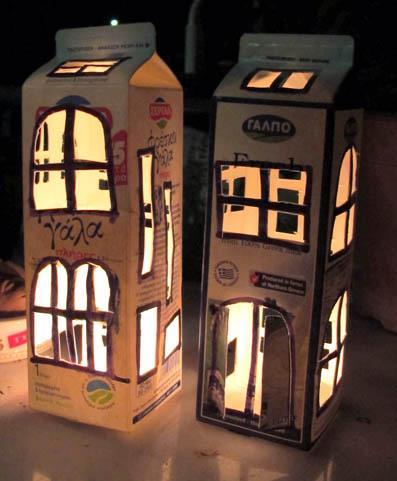 blog carton lantern