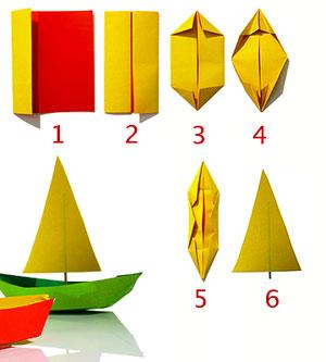 Kayak origami