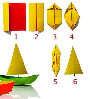 blog make a paper boat